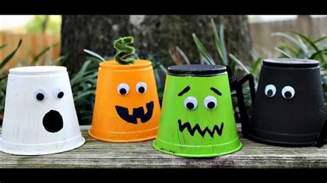 easy   halloween arts  crafts  kids youtube