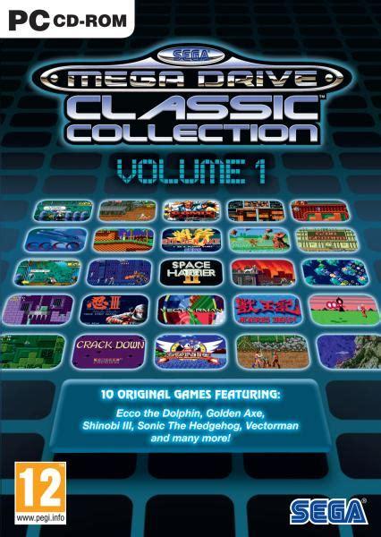 sega mega drive classic collection volume  pc zavvi