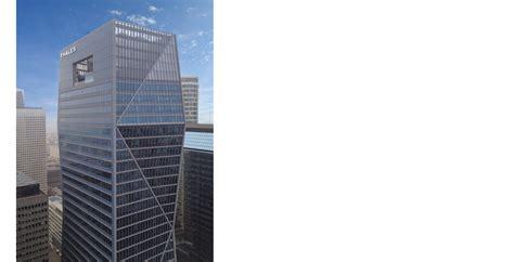 aménagement du nouveau siège de thalès sur 7 niveaux