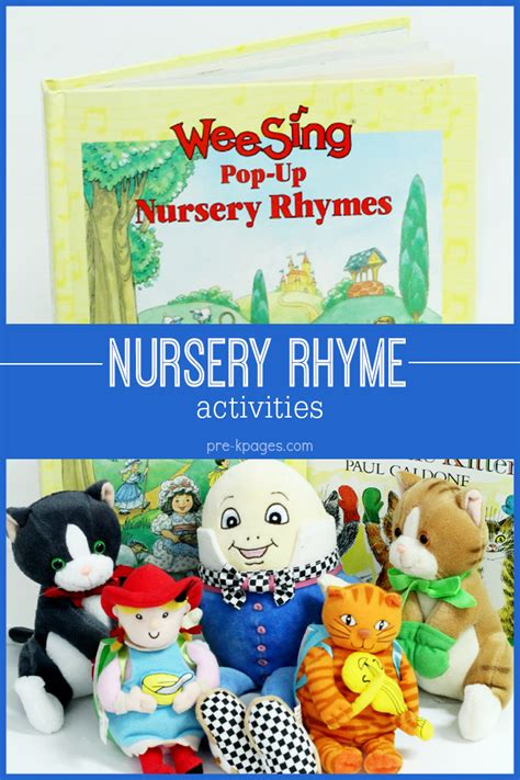 nursery rhyme activities for preschool 101 | Nursery Rhyme Activities