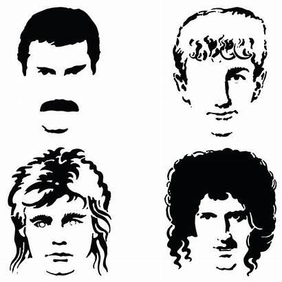 Queen Mercury Freddie Band Brian Taylor Roger