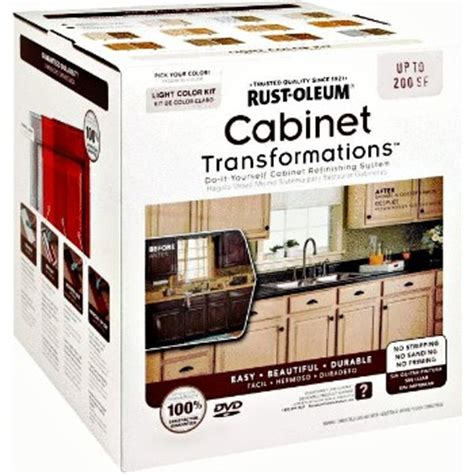 cabinet refacing kit diy buy the rustoleum 258241 cabinet transformation kit large