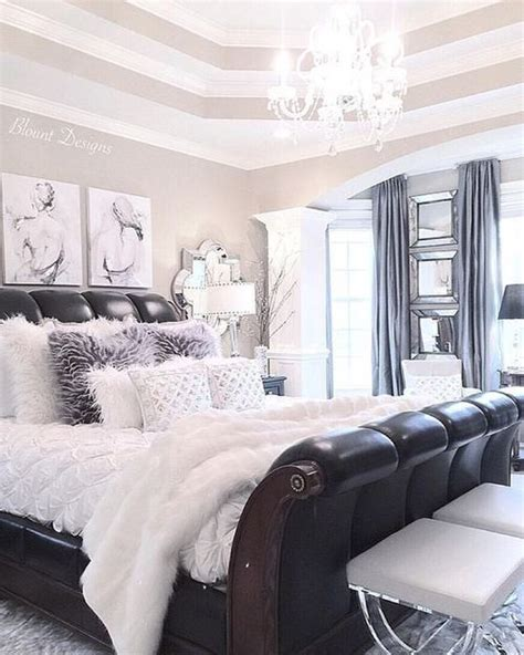 chic master bedroom ideas  pinterest chic