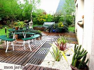 Jardin Deco Exterieur : idee deco jardin ides ~ Teatrodelosmanantiales.com Idées de Décoration