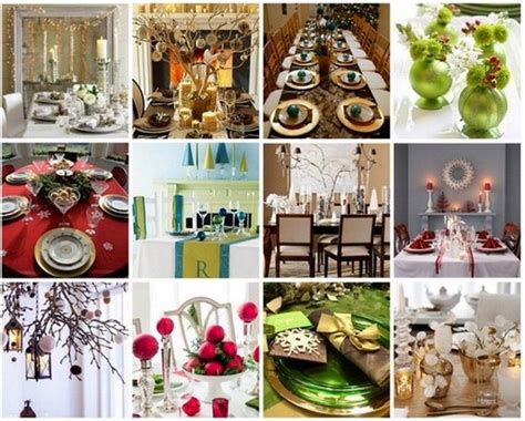 Festive Table Decorations For Your Christmas Feast