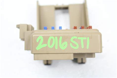 2006 Subaru Impreza Fuse Box by 2015 2018 Subaru Impreza Wrx Sti Dash Fuse Box Panel