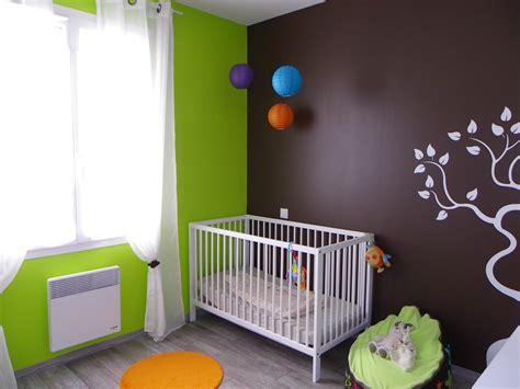 theme chambre bébé garçon deco chambre bebe garcon marron
