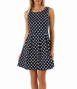 Camaieu robe patineuse femme a pois couture for Robe a pois femme