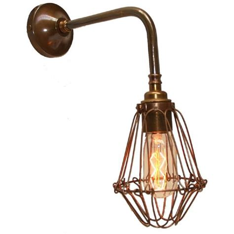 industrial warehouse style wall light with adjustable
