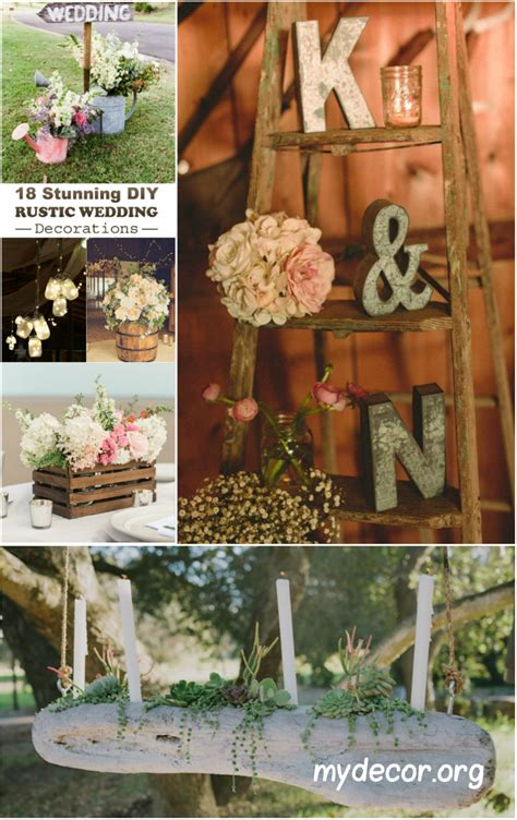18 stunning diy rustic wedding decorations my decor