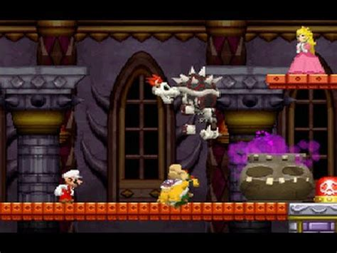 super mario bros ds   boss fights tower