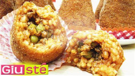 cuisine sicilienne arancini arancinis au ragoût recette sicilienne giusté cuisine