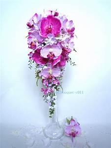 Bouquet Fleur Mariage : peignes cheveux orchid e rose blanc pour mariage ou ~ Premium-room.com Idées de Décoration