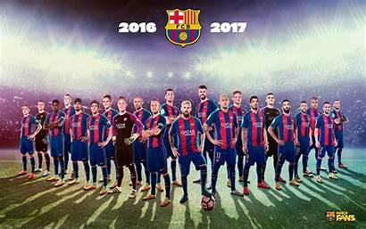Barcelona Fc Team Wallpapers Wallpapertag
