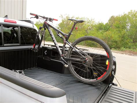 Bed Bike Rack by Rockymounts Driveshaft Sd Truck Bed Rail Bike Carrier
