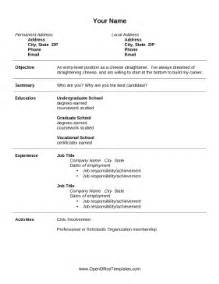Resume With Openoffice by Open Office Resume Template Template Design