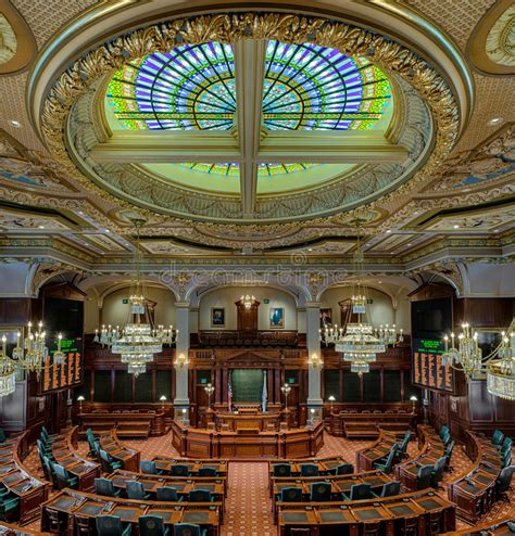 Illinois House Of Representatives Chamber Editorial Image ...