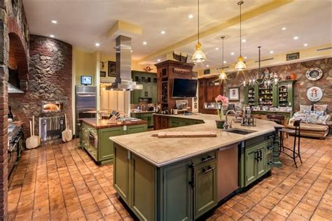 large square kitchen island 31 modern and traditional style kitchen designs