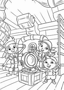 Fun Coloring Pages  Jake And The Neverland Pirates Coloring Pages