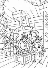 Coloring Jake Pirates Neverland Pages Land Never Fun sketch template