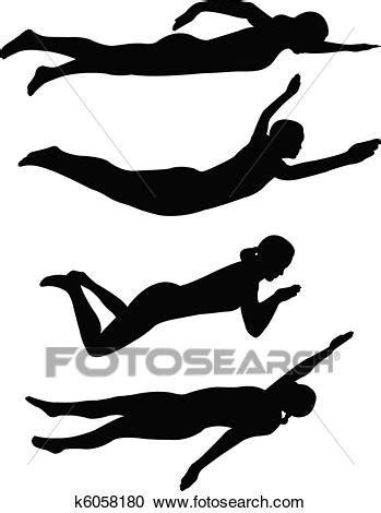 foto de Clipart natation k6058180 Recherchez des Clip Arts