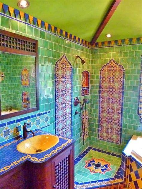 Mosaïque salle de bain merveilleuse et créative