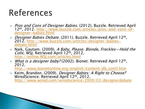 designer babies pros and cons ppt genetic engineering designer babies powerpoint