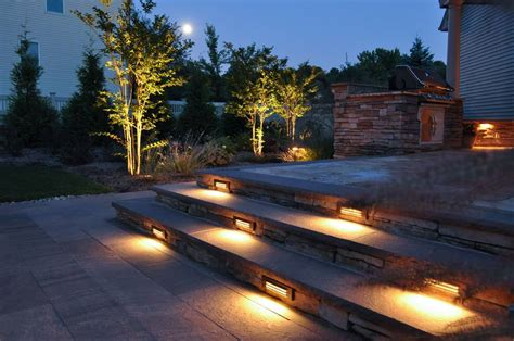 outdoor patio landscape lighting san antonio landscaping