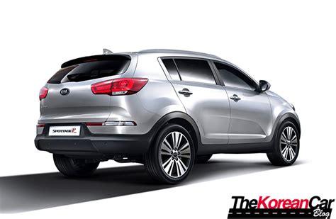 kia sportage facelift the light facelift kia sportage r makes south korean debut