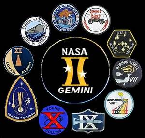 Patches from the Gemini Missions | US Space Program ...