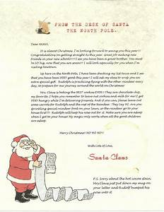 Wish, A, Letter, From, Santa, Sample, Letter, And, Envelope