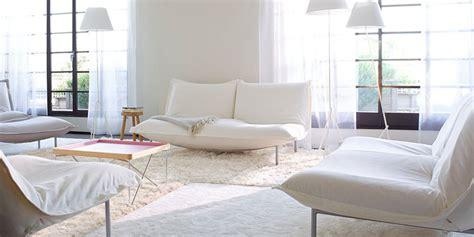 canapé deux angles canapé blanc notre shopping complètement design