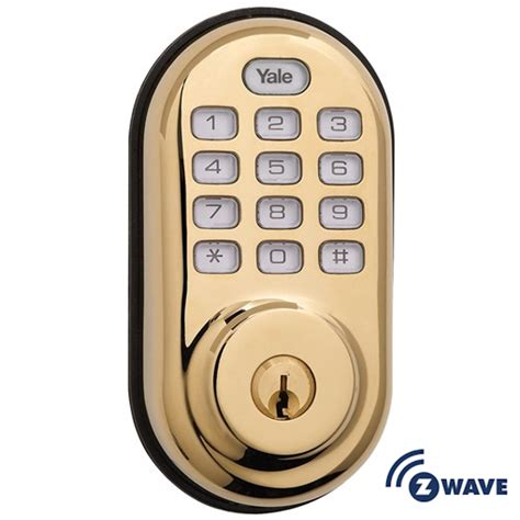 Yrd210zw605 Yale Z Wave Push Button Keypad Deadbolt Brass Make Your Own Beautiful  HD Wallpapers, Images Over 1000+ [ralydesign.ml]