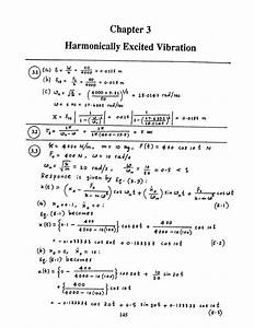 Mechanical Vibrations By Ss Rao 4th Edition Solution
