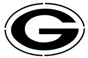 Green Bay Packers Pumpkin Stencil by Nfl Green Bay Packers Big G Logo Stencil Free Usa S Amp H