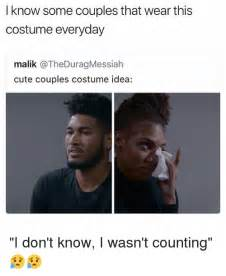 Cute Couple Meme - i know some couples that wear this costume everyday malik cute couples costume idea i don t know