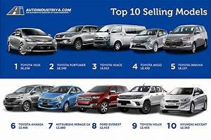 Philippines U0026 39  10 Best-selling Cars Of 2016