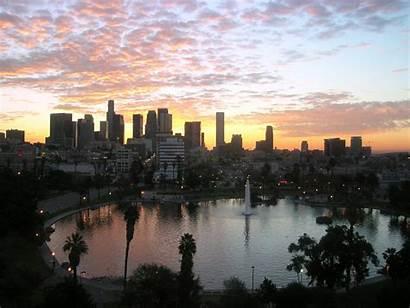 Angeles Los Skyline Desktop Wallpapers Widescreen