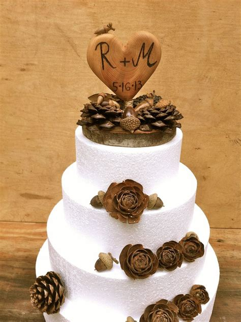 winter wedding place card table pinecone place card holders wedding ideas rustic winter wedding
