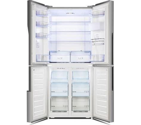 Buy KENWOOD KSBS4DX17 50/50 Fridge Freezer   Inox   Free