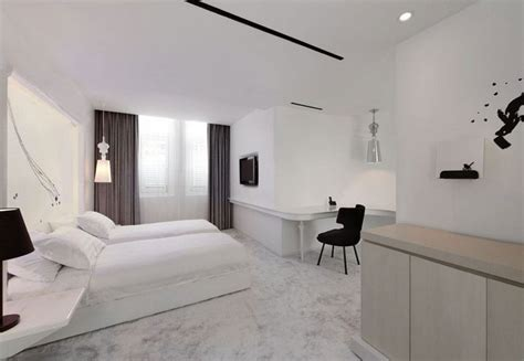 chambre lit jumeau chambre adulte blanche 80 idées pour votre aménagement