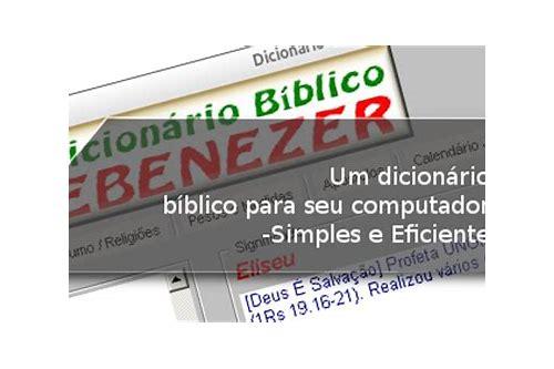baixar grátis pod dicionário bíblico