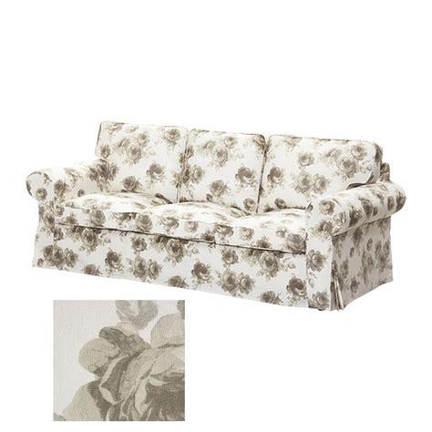 Ikea Ektorp 3 Seat Sofa Slipcover Cover Norlida Beige
