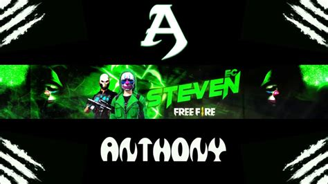 Start growing on youtube for free today using rapidtags and take your channel to the next level. Banner De Free Fire Para Steven Ec - YouTube
