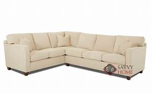 jersey fabric true sectional by savvy is fully With sectional sofa nj