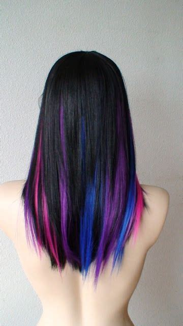 Amazing Multi Colored Highlights Gorgeous Hairstyles