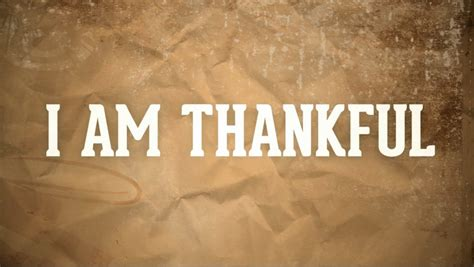 It's Thanksgiving…what Have We To Be Thankful