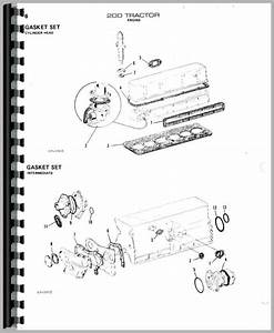 Allis Chalmers 200 Tractor Parts Manual