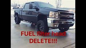 Lmm Duramax Fuel Filter Head Delete