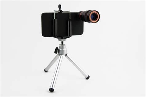 iphone tripod iphone 4 zoom lens with mini tripod gadgetsin